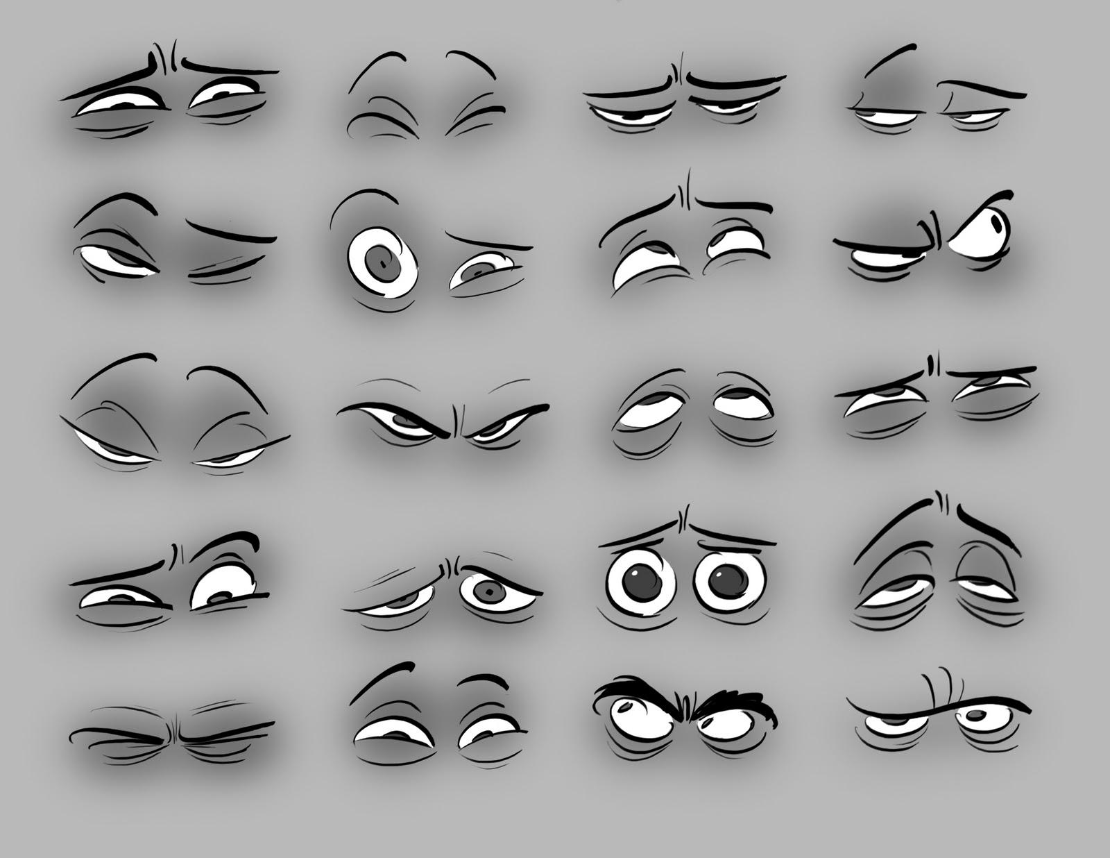 Хитрые глаза рисунок