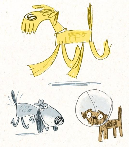 3 dogs from memory