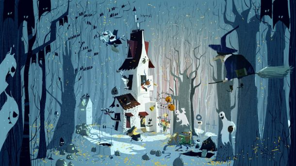 the_house_in_the_forest_by_pascalcampion-d4cm81p