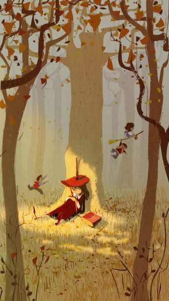 under_the_trees_by_pascalcampion-d4aksz7