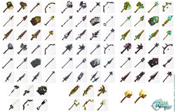 sephyka_ANKAMA_Wakfu-MMORPG_arsenals-and-series-of-weapons-icons
