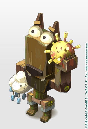 sephyka_ANKAMA_Wakfu-MMORPG_meteo-wolf-totem-with-cloud-and-sun